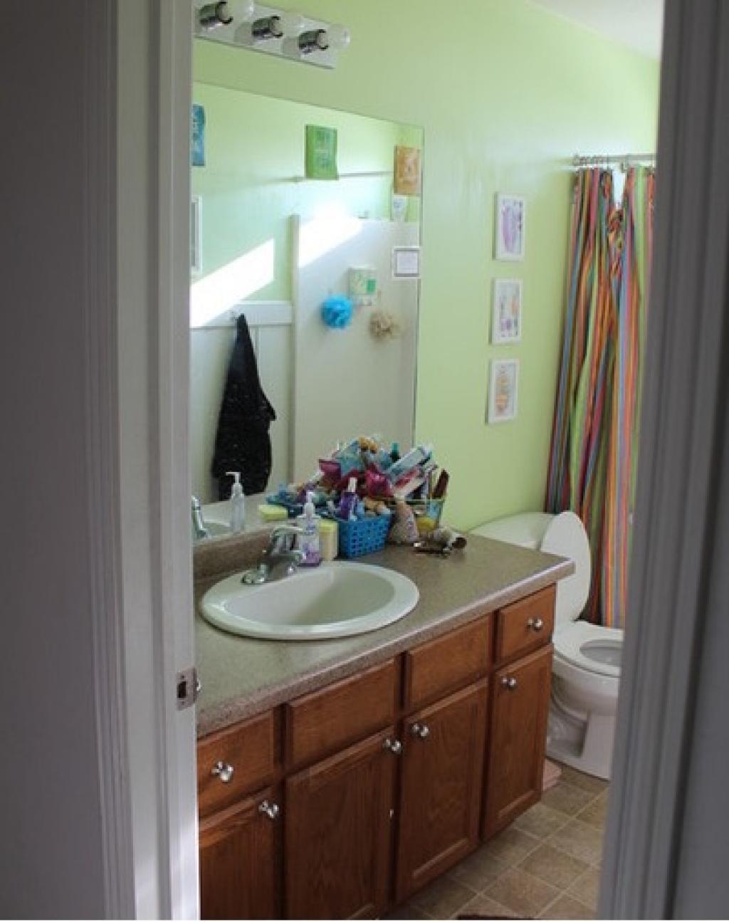Avec seulement 400 pour transformer sa salle de bain, elle ...