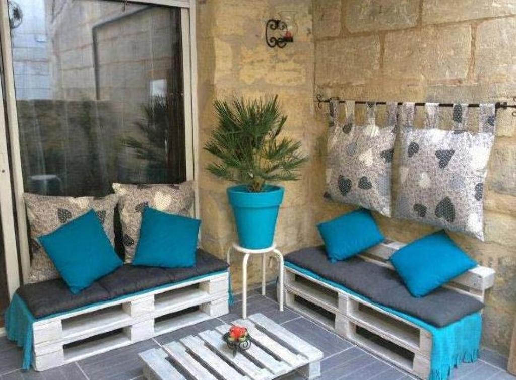 Emejing Salon De Jardin Palette Balcon Images - House Design ...