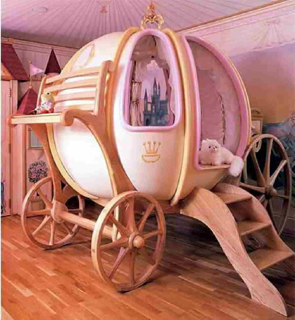 Admirez les plus belles chambres de princesse!   les maisons