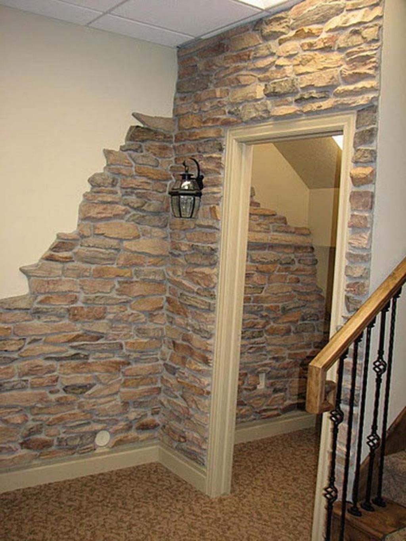 La preuve que la fausse pierre peut enrichir le décor de n'importe ...