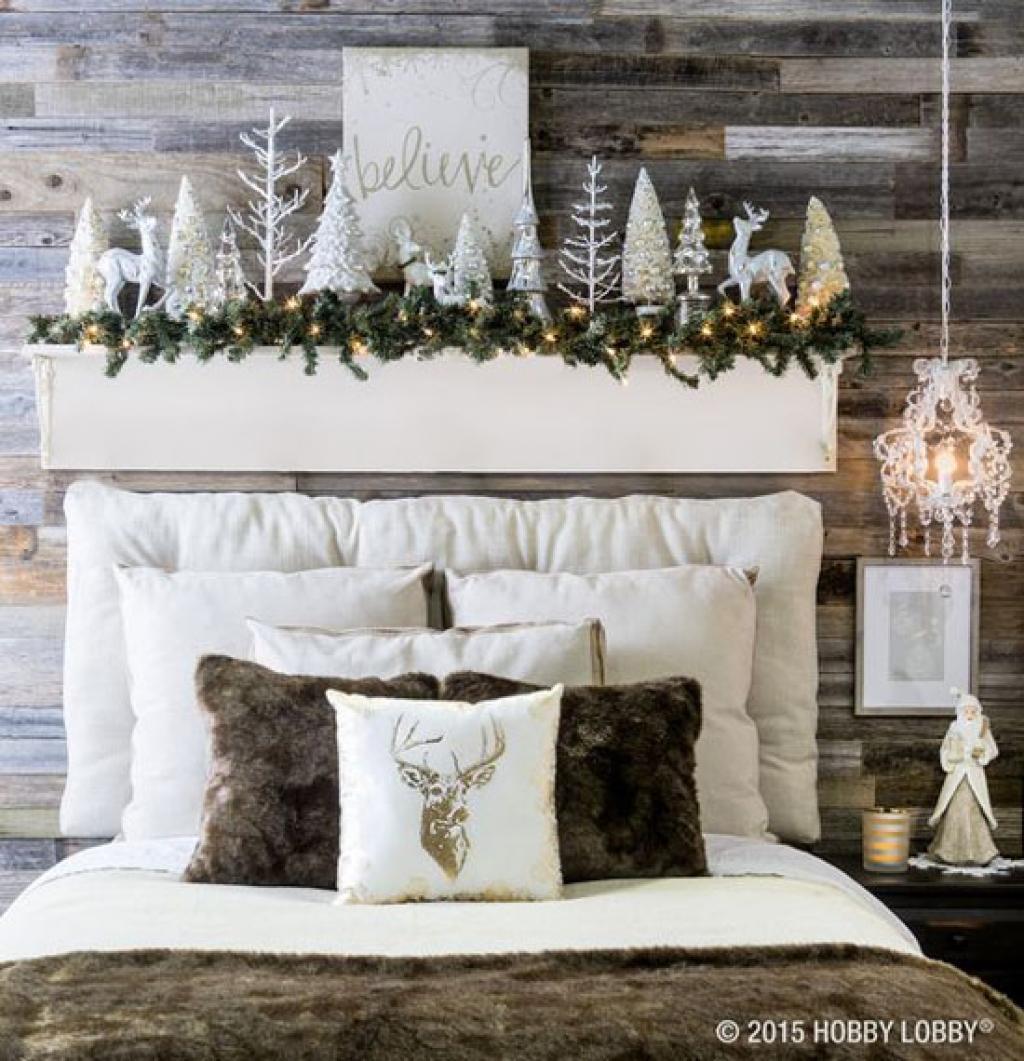 Noël, ça se passe aussi dans la chambre à coucher: 25 décors ...