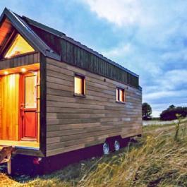 Elle n'a l'air de rien mais cette micro-maison est possiblement l'une des plus mignonnes sur le marché