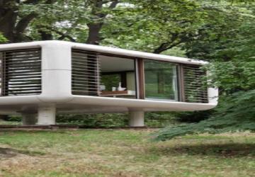 Une demeure à emporter avec soi? Ce cube futuriste est peut-être le prototype de la maison du futur
