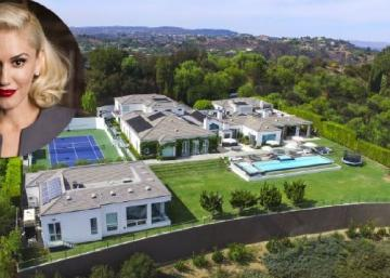 La chanteuse Gwen Stefani vend son manoir de Beverly Hills pour 35 millions de $ : L'intérieur est d'un luxe incomparable!