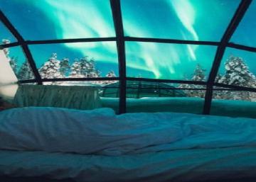 Depuis votre lit, cet hôtel hors du commun vous offre un spectacle que vous n'êtes pas prêt d'oublier