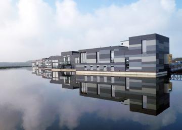 De la Scandinavie en passant par le Canada, voici des structures flottantes EXTRAORDINAIRES!
