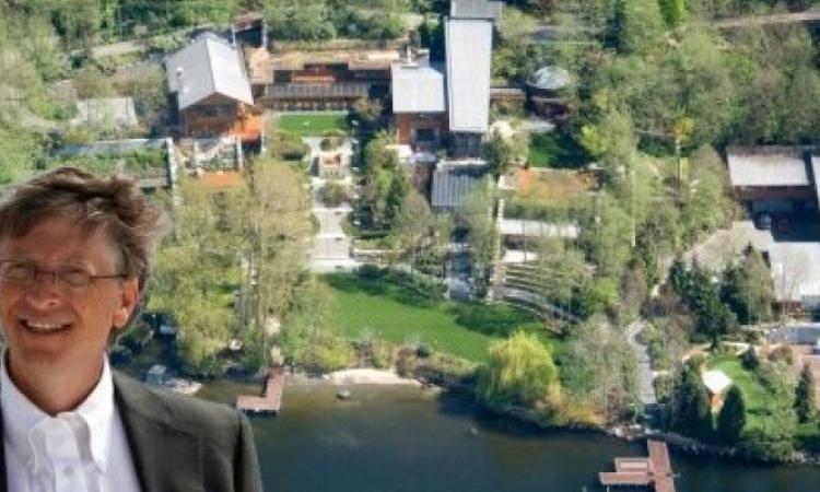 18 faits impressionnants sur le manoir de Bill Gates valant plus de 125 millions de dollars!