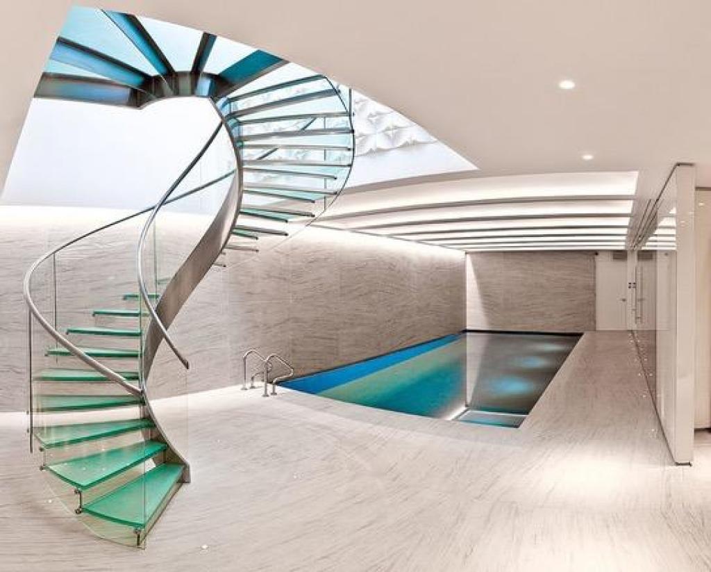 Connu Des escaliers de verre à faire rêver!!! - Les Maisons MA87