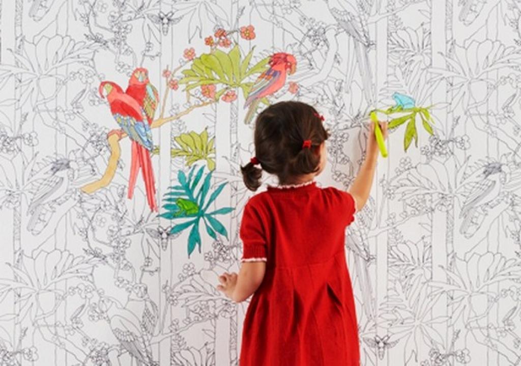 agrable papier peint salle de jeux 11 ce papier peint est parfait pour une