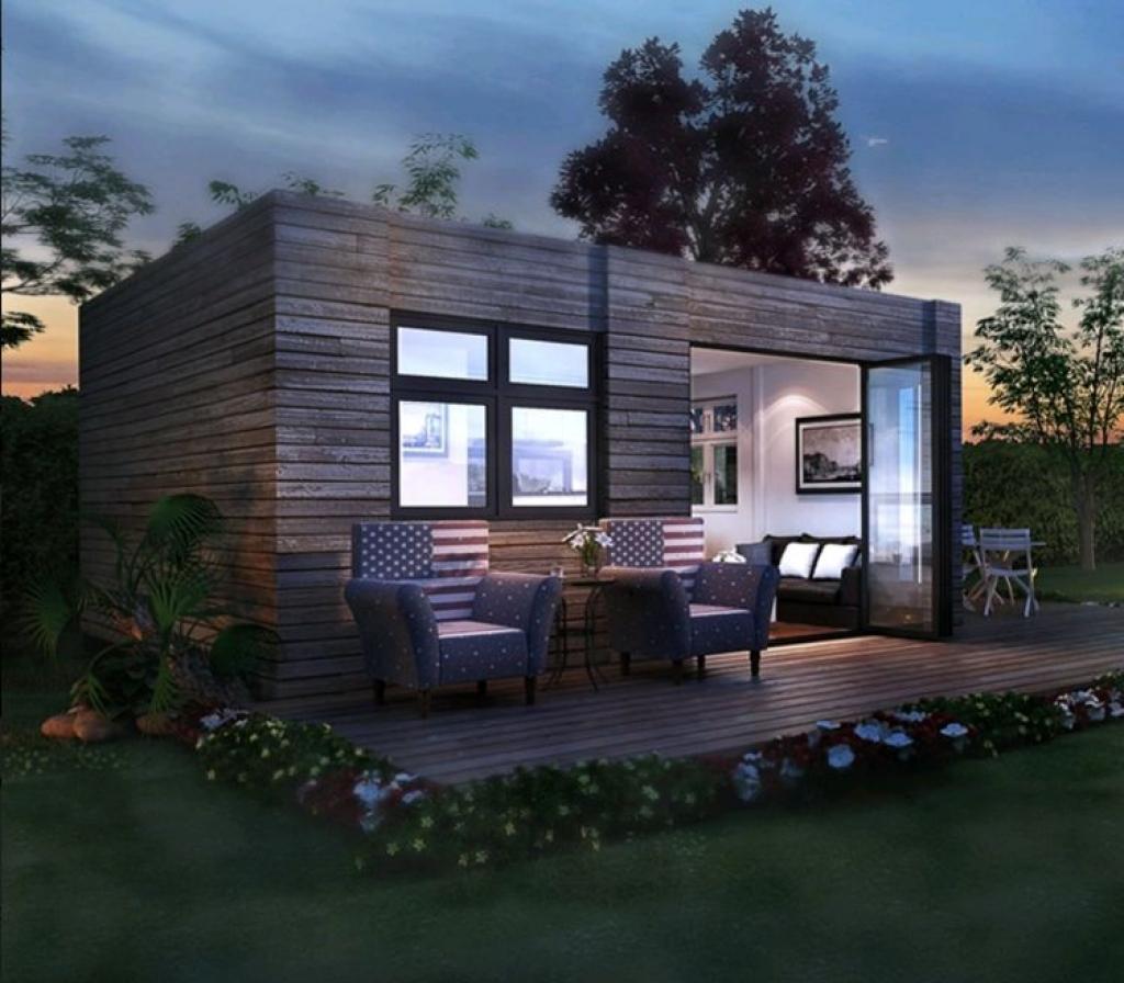 petite, moderne et surprenante, cette petite maison épate avec son
