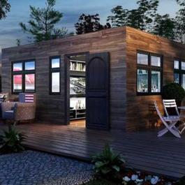 Cette minuscule maison nous prouve que la sophistication ne dépend pas de la taille d'une habitation.