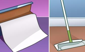 Quand vous passez le balai, est-ce que vous utilisez du papier ciré? Voici pourquoi vous devriez!
