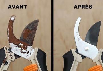3 méthodes que nos grand-mères utilisaient pour ôter la rouille sur les outils de jardin