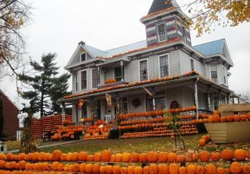 Ces gens prennent l'Halloween au sérieux! 10 décors de maisons ahurissants!