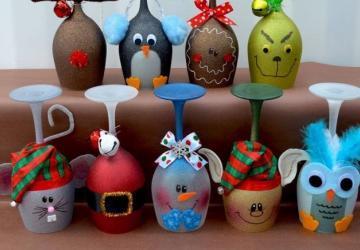 Amusantes, originales; ces décorations de Noël faites à la main vous en mettront plein la vue!