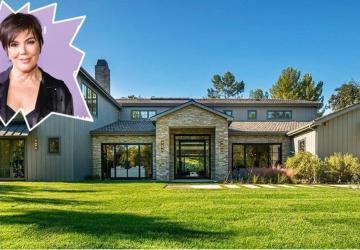 Kris Jenner vient d'acheter une maison de 9.92 millions située juste en face de la maison de sa fille Kim et de son mari Kanye!