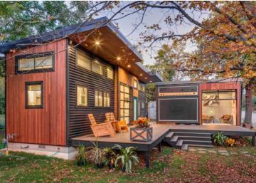 Pour les amateurs de musique! Une tiny house nouveau genre à découvrir!