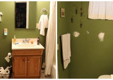 Avec un budget de seulement 90 $, elle transforme merveilleusement l'allure de sa salle de bain!