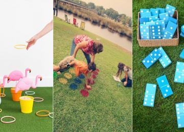 Voici 10 jeux super amusants que vous pouvez fabriquer pour amuser vos enfants dans la cour cet été!