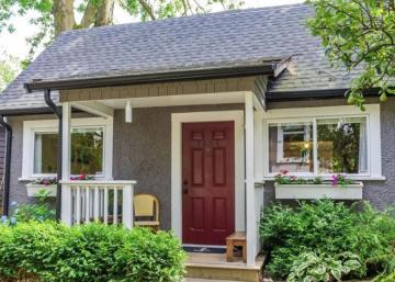 Ce petit cottage nous démontre que la beauté est souvent dans la simplicité!