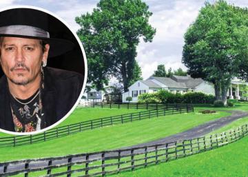 Johnny Depp vend la superbe demeure du Kentucky qu'il avait achetée pour sa mère.