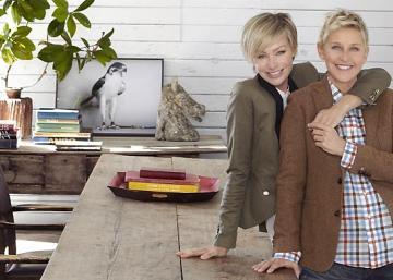 Le couple, formé d'Ellen DeGeneres et Portia de Rossi, sait comment gérer la pression d'Hollywood!