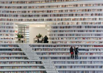 Voici votre chance de visiter la toute nouvelle bibliothèque de Chine qui possède 1.2 millions de livres!