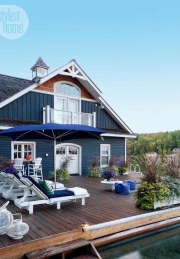 À visiter! Un charmant cottage nautique dont l'ambiance conviviale vous fera rêver!