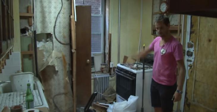 Une vieille dame laisse ce studio en déconfiture: Un entrepreneur motivé en fait 6 chambres dans 1 qu'il faut voir pour croire