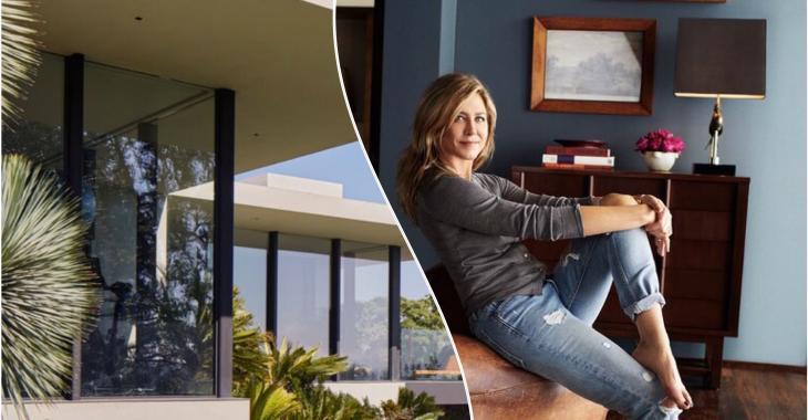 Jetez un coup d'œil à la maison de Jennifer Aniston!