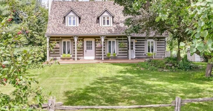 Cette maison à vendre vous offre le charme de la campagne à 30 minutes de la ville.