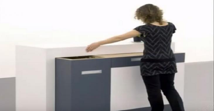 Ces meubles high tech se transforment au gré de vos besoins: Les petits espaces ne seront plus un problème (vidéo)