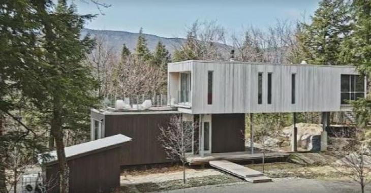 La surprenante maison Echo à Sutton est en vente pour un peu plus de 986,000$: Voici votre chance de la visiter