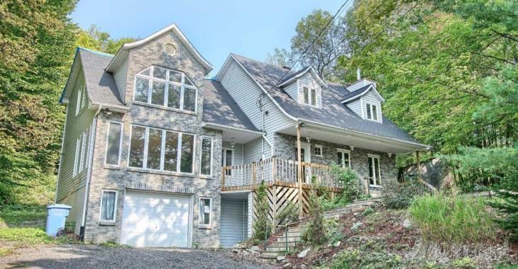 Maison spacieuse et lumineuse dans un environnement enchanteur... et moins chère qu'un loyer!