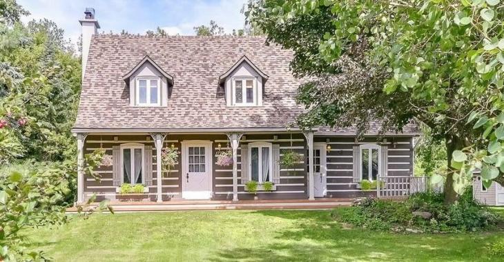 Tous ceux qui visitent cette maison canadienne sont unanimes: l ...