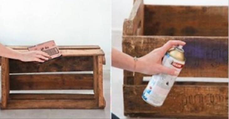 15 variations sur le thème des caissettes de bois... On ne se doutait même pas qu'elles étaient aussi versatiles!