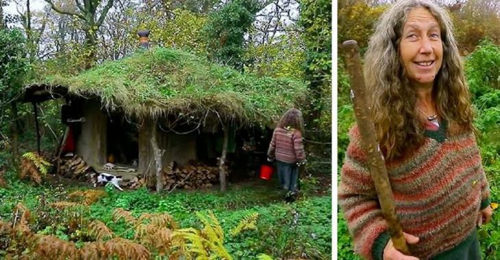 Cette femme vit dans la forêt depuis 17 ans, mais regardez bien sa maison! Stupéfiant!