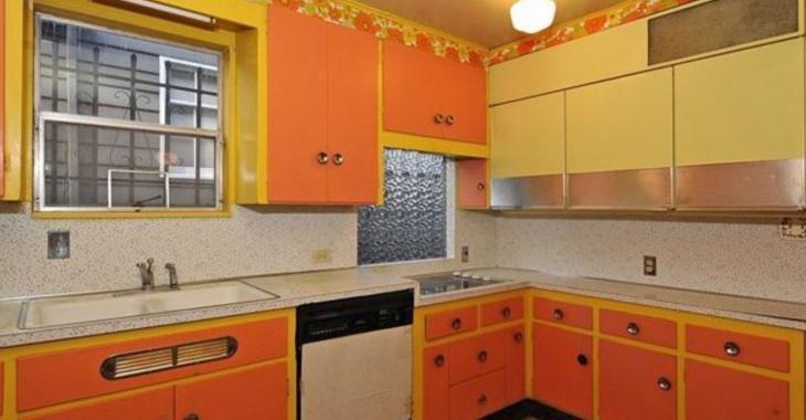 Bye bye cuisine orange et chambre rose. Cette maison des années 70 a ...