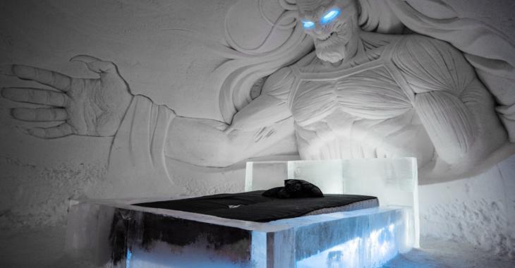 Les fans de la série Game of Thrones seront curieux de découvrir cet hôtel de glace inspiré de la célèbre série!