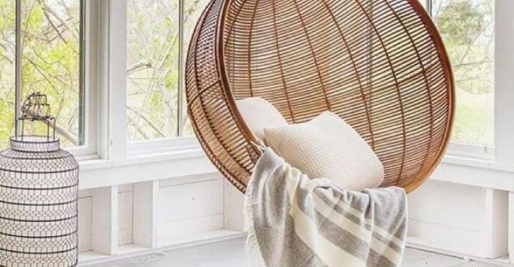 20 fauteuils suspendus top confo dans lesquels on pourrait cocooner toute la journée