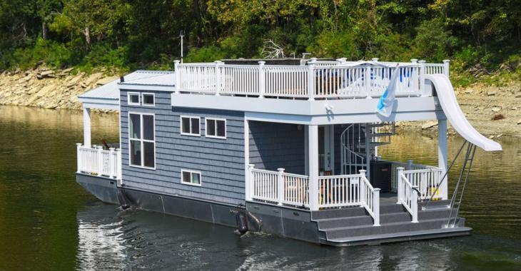 Aimeriez-vous vivre dans une maison flottante comme celle-ci?