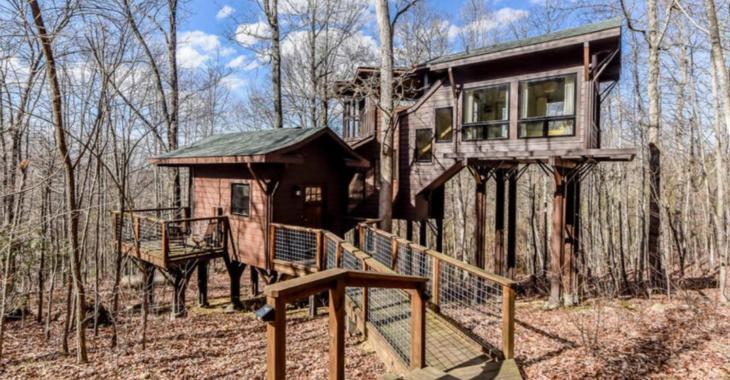 Ça vous dirait de posséder une maison dans les arbres comme celle-ci?