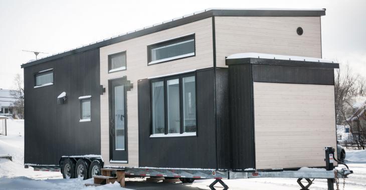 Découvrez cette magnifique mini-maison construite au Québec!