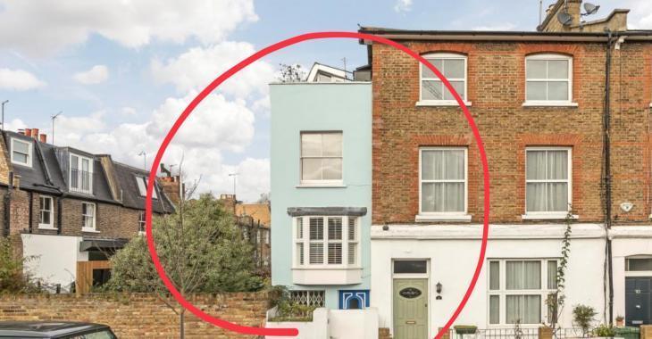 Croyez-le ou non, cette minuscule maison d'à peine 7 pieds de large est à vendre pour plus d'un million de dollars!