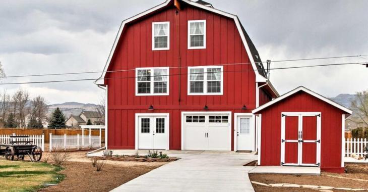 Ancienne grange ou construction neuve ; à vous de deviner!