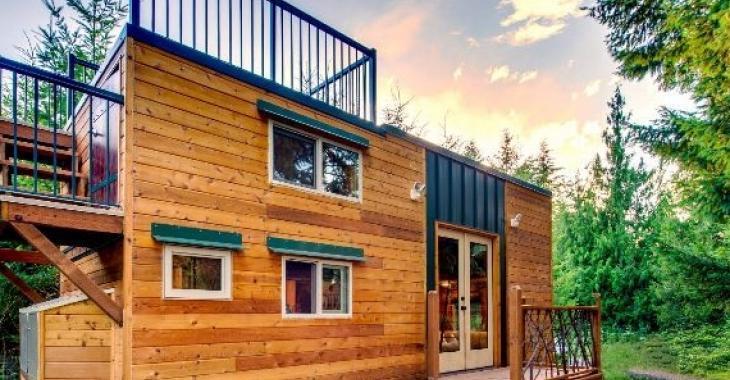 Malgré ses 383 pieds carrés, cette mini-maison possède un intérieur surprenant!