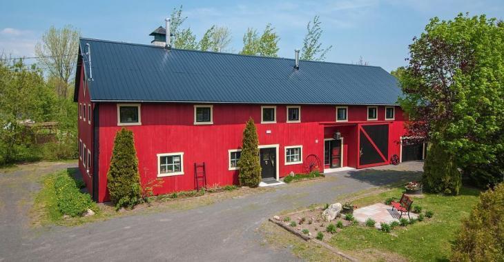 Avez-vous toujours rêvé de vivre dans une ancienne grange transformée?
