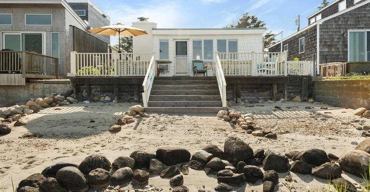 Aimeriez-vous avoir une maison de plage comme celle-ci?