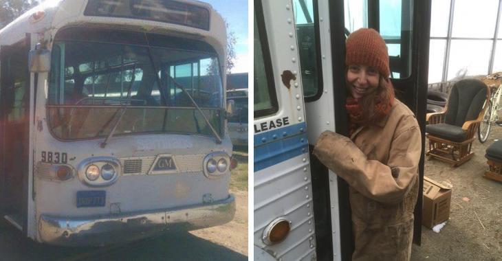 Cette femme a passé 3 ans à transformer ce bus et le résultat est spectaculaire!