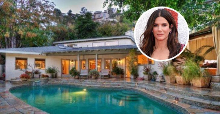 L'actrice Sandra Bullock vend sa maison de Los Angeles.